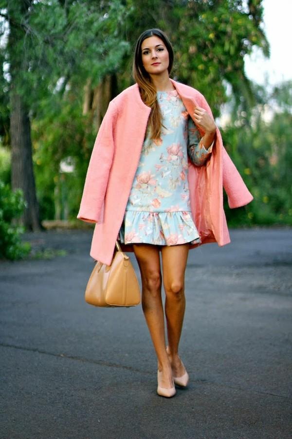 marilyn's closet blog dress coat bag shoes