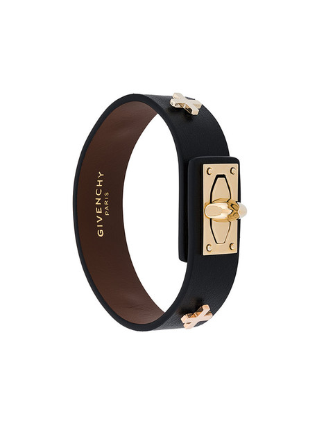 Givenchy women leather black jewels