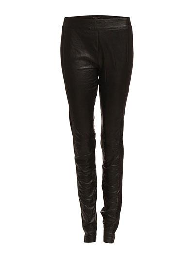 Selected Femme Olesia Mw Leather Legging F Ex (Black) - Køb og shop online hos Boozt.com