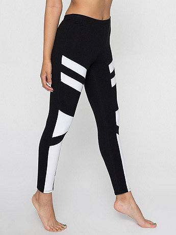 Cotton Spandex Design Legging | American Apparel