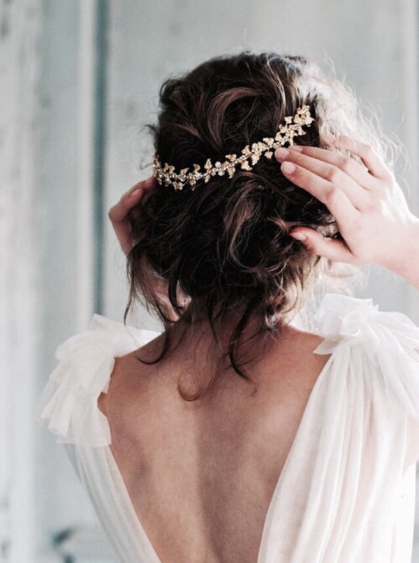 hair accessory tumblr hairstyles open back open back