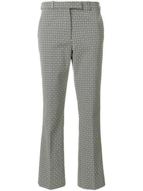 ETRO women spandex cotton black pants