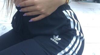 pants adidas blue