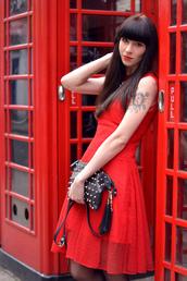 dress,carven,red mesh dress,romantic dress,cocktail dress,flared skirt dress,red taffeta,red taffeta dress,carven dress,carven red dress,red dress,taffeta,taffeta dress,prom dress,lace dress,mesh dress