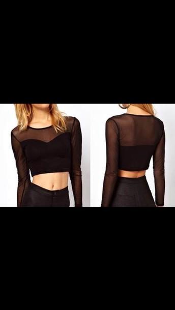 top clothes black top