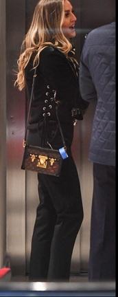 jacket,lace up,suede,cropped jacket,perrie edwards,black cropped jacket