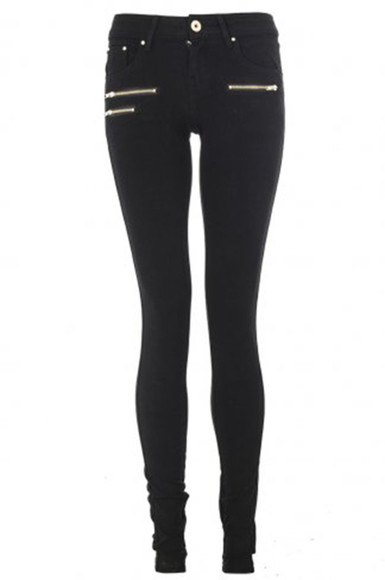 zippers black jeans jeggings low waist