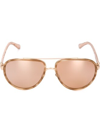sunglasses aviator sunglasses metallic