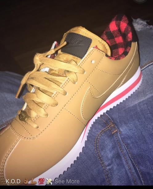 pretty nice 9b171 b78f0 shoes nike cortez nike nike cortez plaid inside