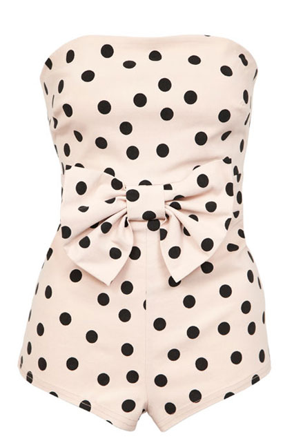 Dotty Swimsuit at ASOS - New Fashion Swimwear & Bikinis (houseandgarden.co.uk)