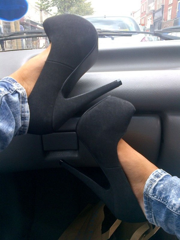 shoes high heels black high heels black