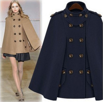 1960s Mod Military Poncho Mod Boho Cape Wool Coat Jacket 60s Cape ...