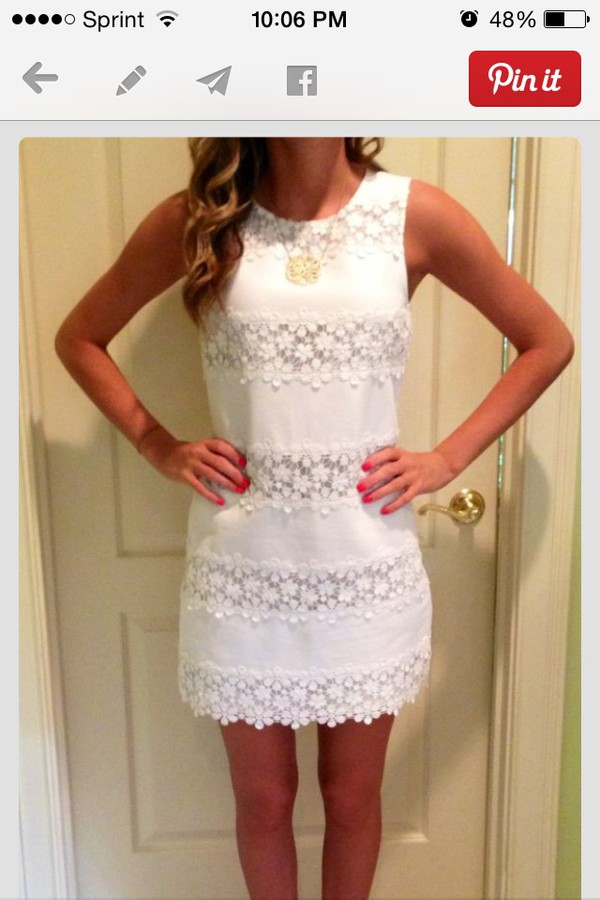 dress preppy shift dress white dress lace floral dress lace dress j crew graduation dress spring dress casual dress fashion white white lace dress flowers striped dress stripes