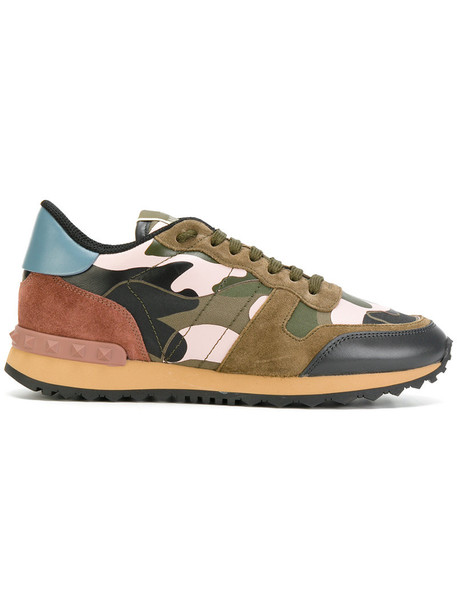 Valentino women sneakers leather shoes