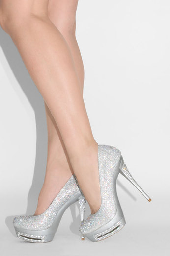 The Boutique -Silver - Lola Shoetique