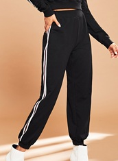 pants,girly,girl,girly wishlist,black,joggers,joggers pants