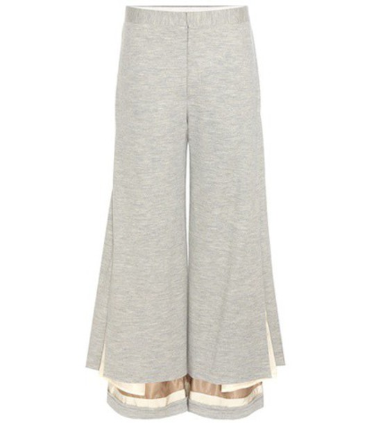 Undercover Wool Trousers in grey