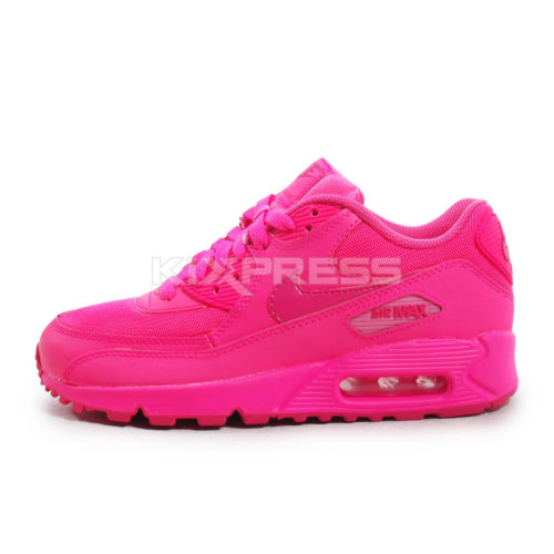 new product a541c 8017f Nike Air Max 90 GS  345017-601  NSW Running Hyper Pink Vivid ...