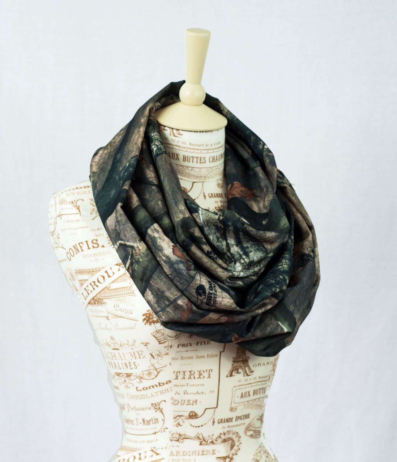 SALE Mossy Oak Scarf Camo Infinity Camouflage RealTree Tree Stand Real Tree Lightweight
