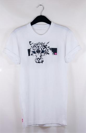 t-shirt 14 lion t-shirt pink crewneck rolled sleeves freshtops london