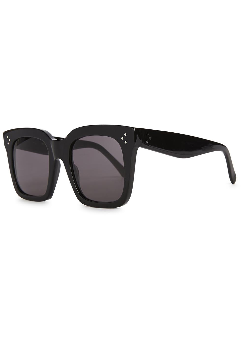 93c8d43e0e6 Céline Tilda black wayfarer style sunglasses