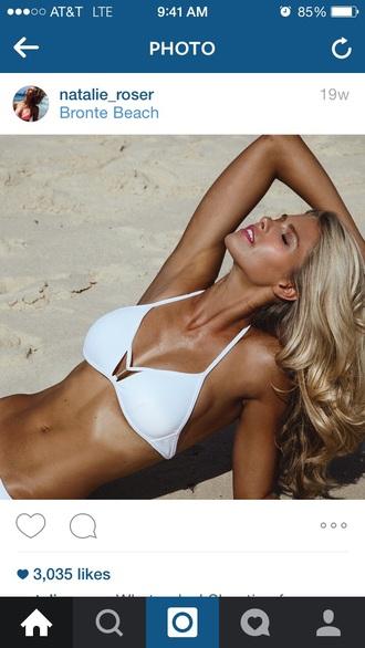 swimwear white swimwear bikini white bikini