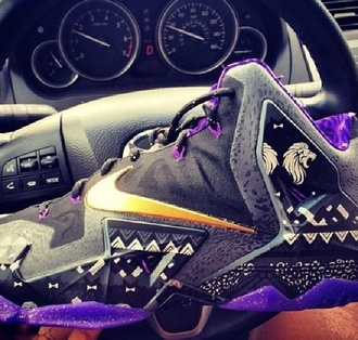jordan's purple purple shoes