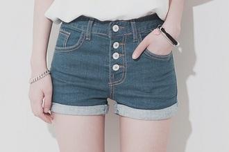 shorts jeans cute high waisted hipster denim shorts