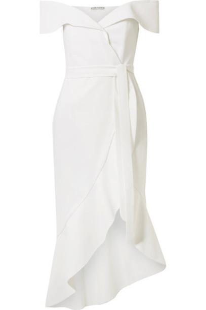 alice + olivia dress white