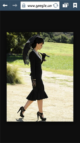 blouse dress katy perry heels office outfits old fashion elegant classy black dress