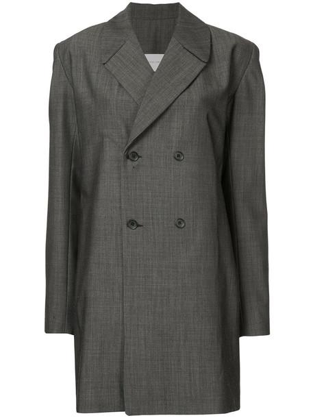 Strateas Carlucci blazer women wool grey jacket