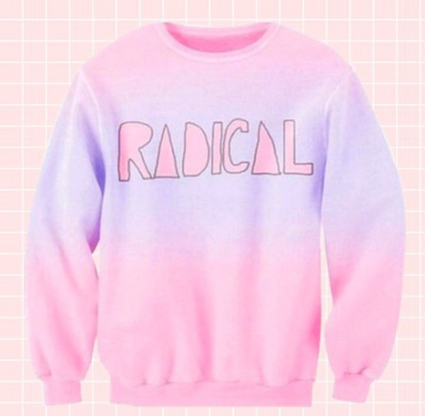 sweater kawaii pastel goth oversized sweater hipster indie