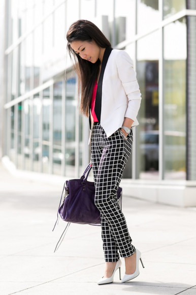 pants comfortable checkered