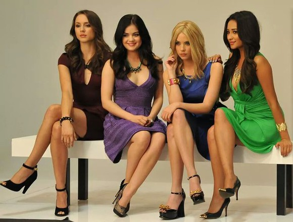 pretty little liars shoes black high heels