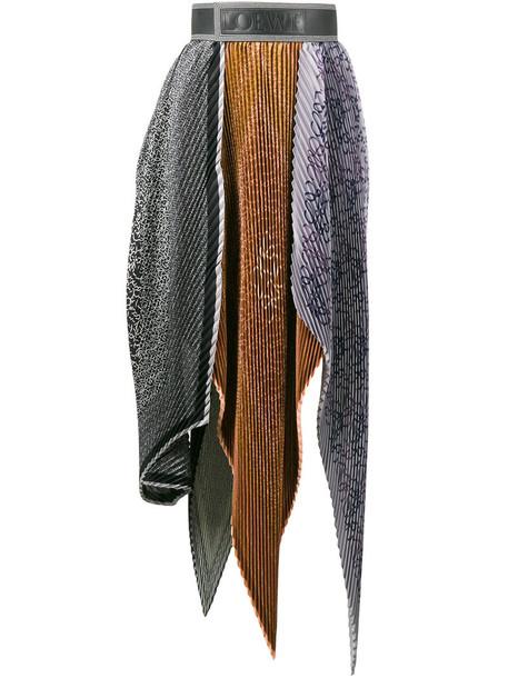 LOEWE skirt high women leather