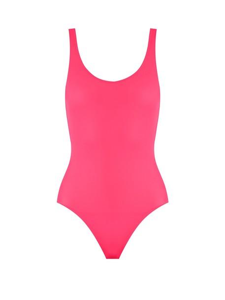 Solid & Striped pink swimwear