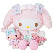 home accessory,rose,my melody,kawaii,doux,cute,peluche