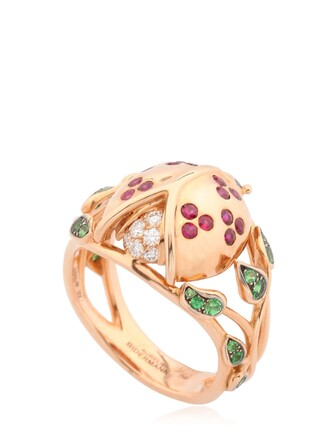 ring leaves gold jewels