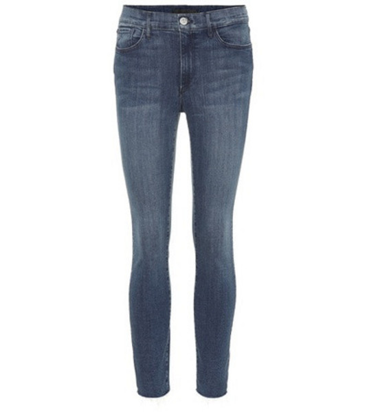 3x1 W2 mid-rise cropped jeans in blue