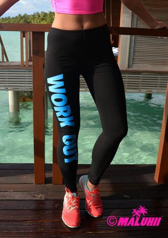 leggings nike nike pro nike leggings workout leggings work out gym leggings maluhii leggings neon leggings