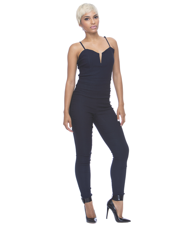 MIDNIGHT RUN Stretch Jumpsuit – FLYJANE