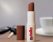 make-up,lip,lip balm,nutella,chocolate,chapstick