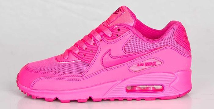 pink nike air maxes