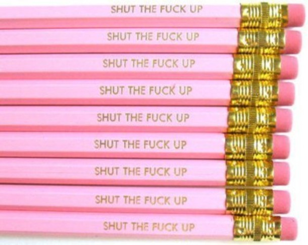 pencils pink mean girls jewels