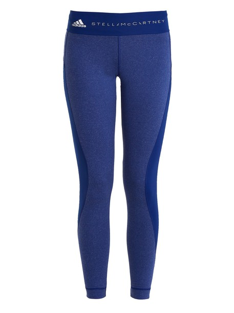 ADIDAS BY STELLA MCCARTNEY leggings yoga blue pants