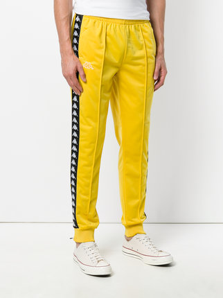 Kappa Side Stripe Track Pants - Farfetch