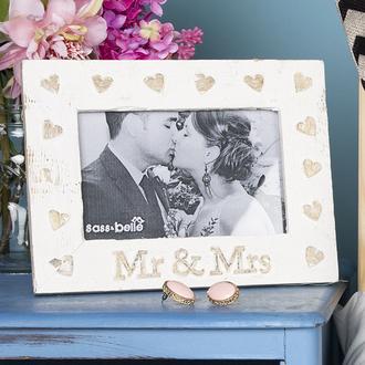 home accessory photo frame wedding gift ideas wood homeware love heart