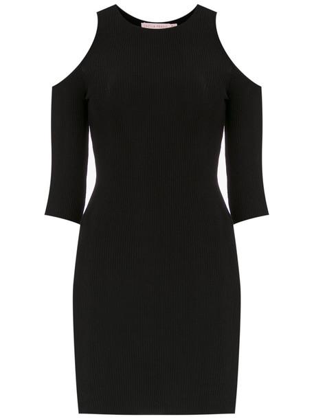 dress women spandex black knit