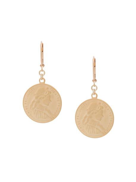 Theatre Products women earrings grey metallic jewels