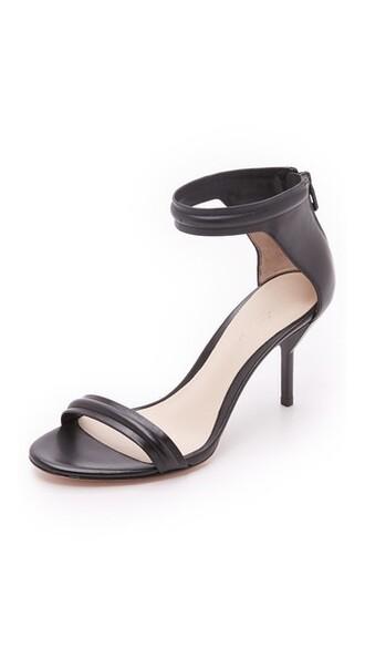 heel mid heel sandals sandals black shoes